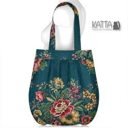 2fe7587a8d7d8 folk,torba w kwiaty,duża torba,na lato - Na ramię - Torebki w ArsNeo