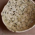 Ceramika i szkło czekoladniczka,miseczka,ceramika,ażur,na różności