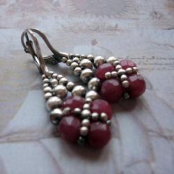 plecione,kolczyki,wiszące,Extrano - Kolczyki - Biżuteria