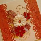 Kartki okolicznościowe romantyczna kartka,urodzinowa,imieninowa kartka,