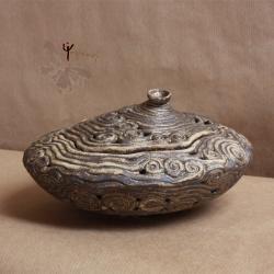 szkatułka,ażur,ceramika,na różności - Ceramika i szkło - Wyposażenie wnętrz