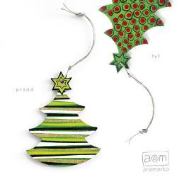 anamarko,choinka,ozdoba,zawieszka,świąteczna - Inne - Wyposażenie wnętrz