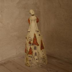 anioł,figurka,dekoracja - Ceramika i szkło - Wyposażenie wnętrz