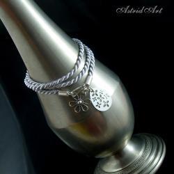 bransoletka,srebro - Bransoletki - Biżuteria