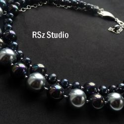 naszyjnik z perłami - Naszyjniki - Biżuteria