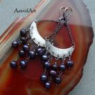 Kolczyki srebro,perły,kolczyki