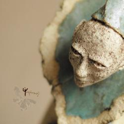 rzeźba,ceramika,unikat,rękodzieło,on - Ceramika i szkło - Wyposażenie wnętrz