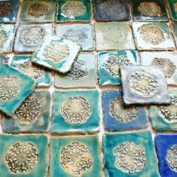 dekory ceramiczne,unikatowa glazura,kafle - Ceramika i szkło - Wyposażenie wnętrz