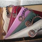 Miedziane zakładki do książek