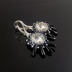 plecione,kolczyki,Extrano - Kolczyki - Biżuteria