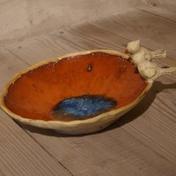 miska,ptak,dekoracja - Ceramika i szkło - Wyposażenie wnętrz
