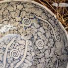 Ceramika i szkło misa,komplet,ceramika,ślimaczki,unikat