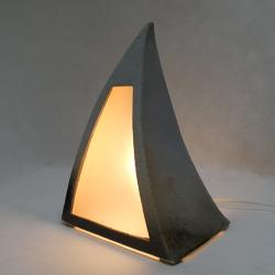 lampa ceramiczna,lampka nocna,oświetlenie - Ceramika i szkło - Wyposażenie wnętrz
