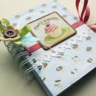 Notesy babeczka,notatnik,retro,słodki,zapiski