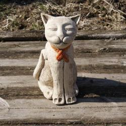 kot,figurka,dekoracja - Ceramika i szkło - Wyposażenie wnętrz