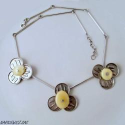 delikatny,subtelny,kobiecy - Naszyjniki - Biżuteria