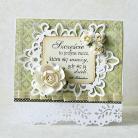 Kartki okolicznościowe ślub,życzenia,pastele,kwiaty,kartka