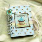 Notesy notes,babeczka,zapiski,słodki,prezent