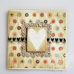 serca,kartka,sielsko,eight,ślub - Kartki okolicznościowe - Akcesoria