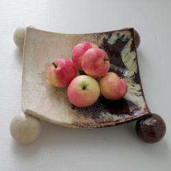 misa ceramiczna,patera,dekoracja - Ceramika i szkło - Wyposażenie wnętrz