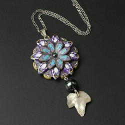 z fimo,elegancki,oryginalny - Naszyjniki - Biżuteria