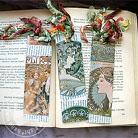 Komplety komplet zakładek do książek,Alfons Mucha