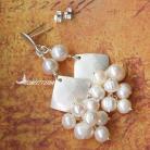 Kolczyki elegancki,ekskluzywny,kobiecy,perły