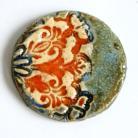 Broszki broszka ceramiczna,biżuteria artystyczna