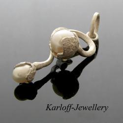 srebro,elegenckie,zamówienie specjalne - Wisiory - Biżuteria