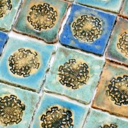 dekory ceramiczne,kafle ręcznie robione - Ceramika i szkło - Wyposażenie wnętrz