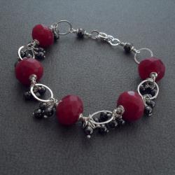 kobieca,zmysłowa,brzęcząca,łańcuszek,gronka - Bransoletki - Biżuteria