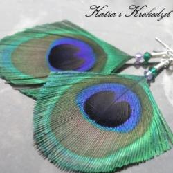 modne,nowoczesne,tęczowe,lekkie - Kolczyki - Biżuteria