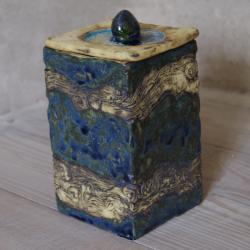 szkatułka,pudełko,ceramika - Ceramika i szkło - Wyposażenie wnętrz