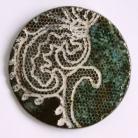 Broszki broszka ceramiczna,biżuteria ceramiczna,