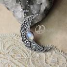 Wisiory księżyc,noc,gwiazdy,błękit,światło,celtycki