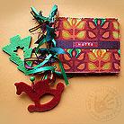 Notesy notes,notatnik,święta,kwiaty,czerwony,zielony
