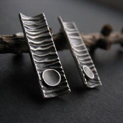 fiann,srebrne kolczyki - Kolczyki - Biżuteria