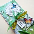 Kartki okolicznościowe dmuchawce,motyl,życzenia,imieniny,urodziny