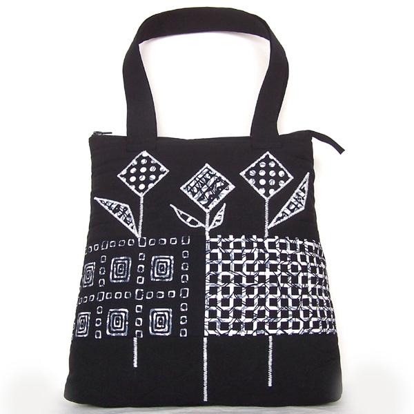 145d5c42fe5d1 biało-czarna torebka,torba,ręcznie zrobiona - Na ramię - Torebki w ...