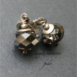 srebro,kolczyki,swarovski,kryształowe - Kolczyki - Biżuteria