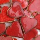 Ceramika i szkło magnes,serce,prezent,upominek,walentynki