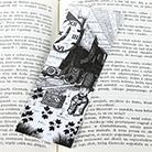 Zakładki do książek do książki,zakładka,pociąg,lokomotywa czasu