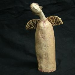 anioł,Lukrecja,ceramika - Ceramika i szkło - Wyposażenie wnętrz