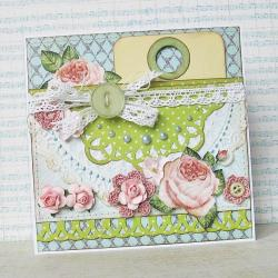 kartka,wyjątkowa,życzenia,urodziny,kwiaty - Kartki okolicznościowe - Akcesoria