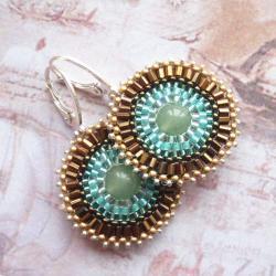 plecione,kolczyki,Extrano,koronkowe,medaliony - Kolczyki - Biżuteria