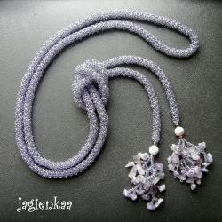 naszyjnik,lariat,elegancki,unikalny - Naszyjniki - Biżuteria
