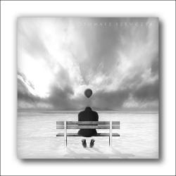 grafika,na ścianę,samotność,smutek,ławka - Ilustracje, rysunki, fotografia - Wyposażenie wnętrz