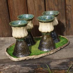 kielich,taca,naczynie - Ceramika i szkło - Wyposażenie wnętrz