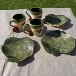 naczynia,kubek,talerzyk,ceramika - Ceramika i szkło - Wyposażenie wnętrz