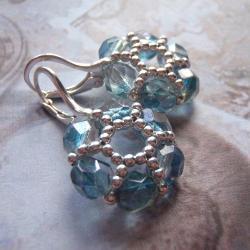 kolczyki,kwiaty,extrano - Kolczyki - Biżuteria